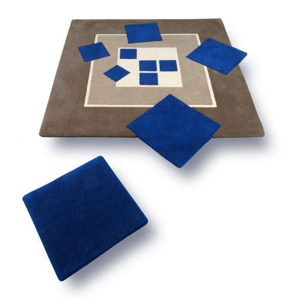 ce-carre, tapis-bleu, gris