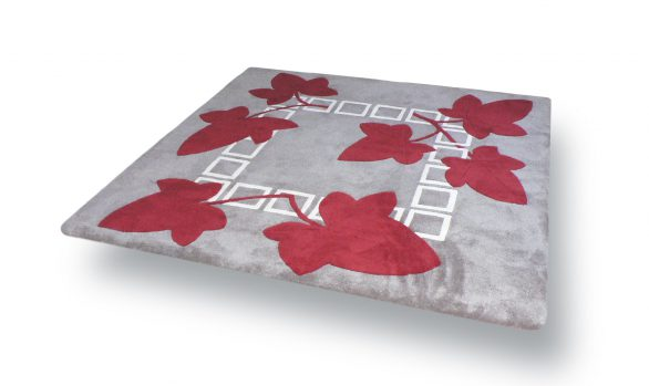 lierre, tapis carre, made-in-france
