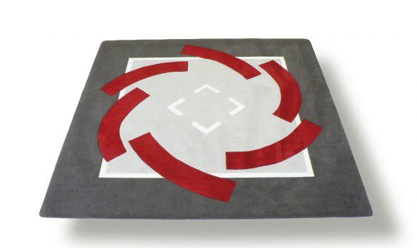Ronde-de-nuit, tapis carré, createur, jory-Pradelle