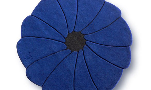 spirit-flower, tapis-bleu, tapis-rond, electrique
