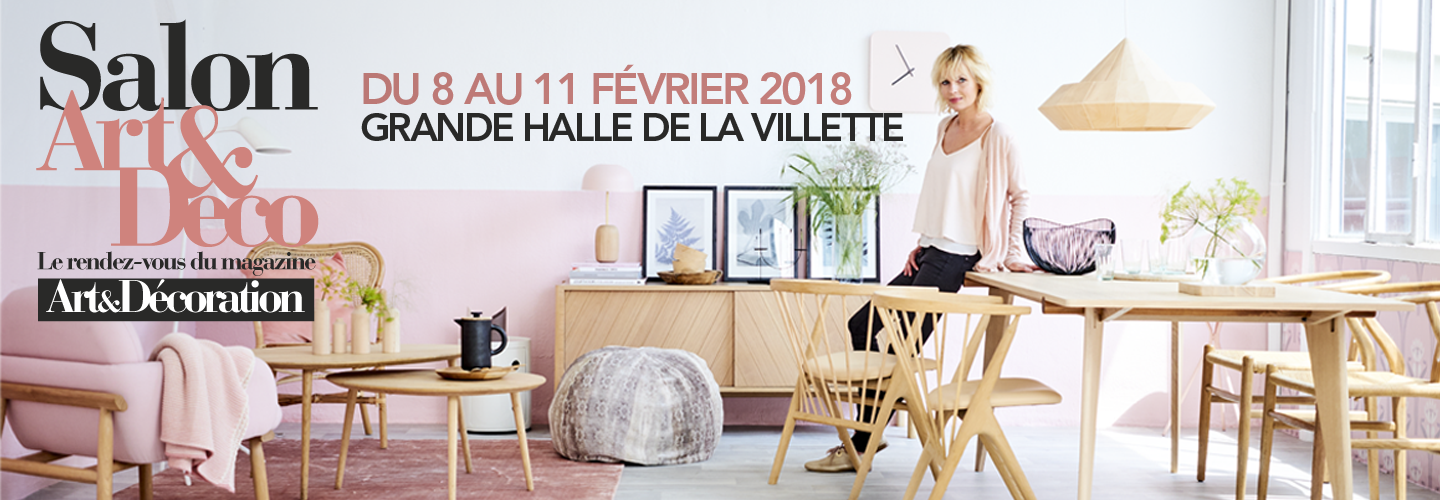 salon art & décoration 2018 Paris