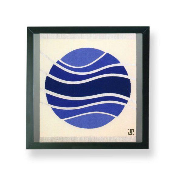 tapisserie bleue aubusson