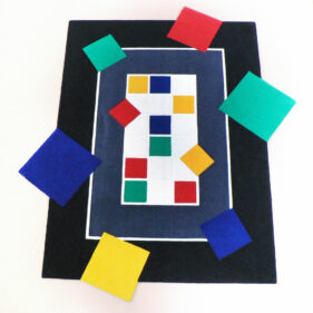 quatre-petits-tours, tapis rectangle, coloré