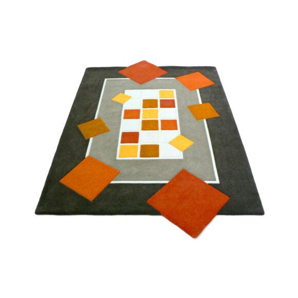 tapis géométrique art-nouveau Aubusson