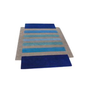 entrelacs - tapis géométrique coloré