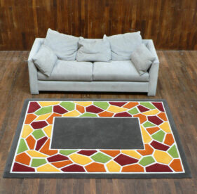 mozaic, grand-tapis, loft, salon, déco