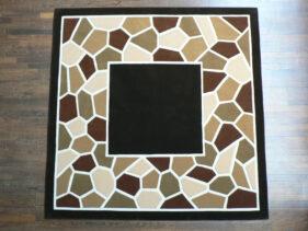 mozaïc, tapis-camaieu