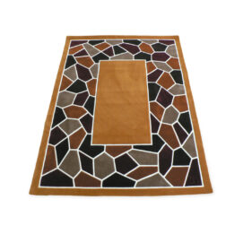 Mosaic tapis tufté main Made in france
