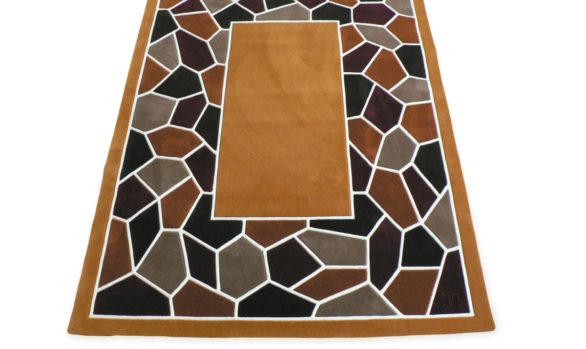 Mosaic tapis tufté main Made in france
