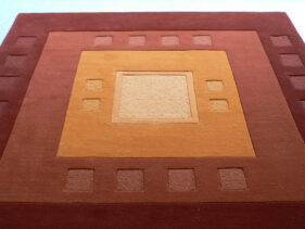 tapis potala détail, jory pradelle