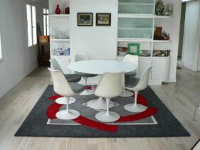 Ronde-de-nuit, tapis-salle-a-manger, deco, tapis decoration