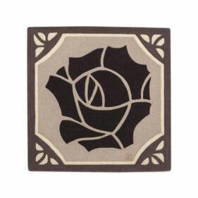 rose noire- laines naturelles