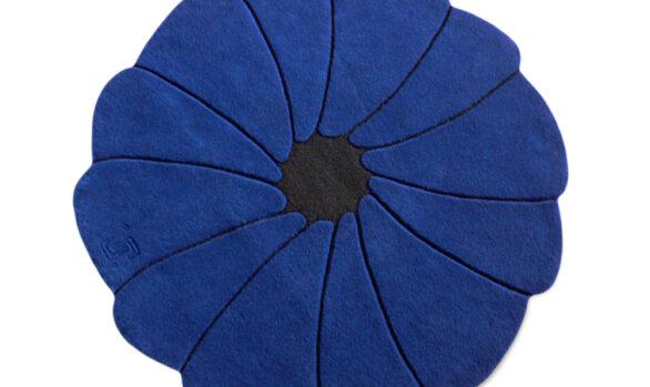 Spiritflower - tapis rond à fleur